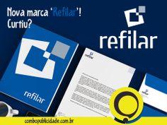 CRIAÇÃO DE IDENTIDADE VISUAL, é com a Combo! Nova marca 'REFILAR'.  Veja mais em: http://www.combopublicidade.com.br/?p=2785