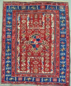 Early West Anatolian Bergama Rug, circa 1800