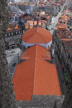 Porto visto dos Clérigos www.webook.pt #webookporto #porto #bestviews