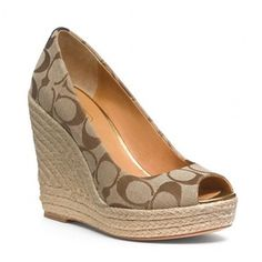 coach wedge shoes | Coach Shoes - Shop for Coach Shoes at Polyvore