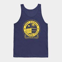 MMM Merchandising Archer Mens Sploosh Tank Top