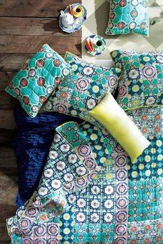 Shop all sale bedding at Anthropologie. Find handmade quilts, duvets, shams, throws & more, all at a great value.