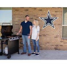 NFL Dallas Cowboys Large Outdoor Logo Decal