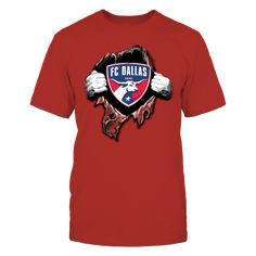 FC DALLAS XE Front picture Fc Dallas, Racerback Tank, Youth, Unisex, Pullover, Hoodies, Long Sleeve, Mens Tops, T Shirt