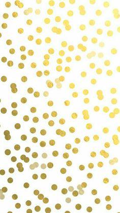 #Lunares dorados.