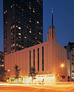 New York, New York Temple! We visited this temple when we picked up my older brother, William, from his mission. It almost blends in with the surrounding buildings besides the fact that it is white. Interesting fact, they have a church house in there, too.