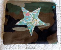 Pochette camouflage et liberty betsy vert   63