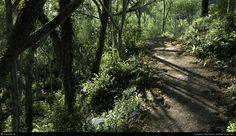 Maya and Photoshop using MentalRay CG Landscape