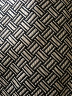 Mens Polo Ralph Lauren Geometric Cream Black Silk Tie