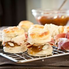 Blue Cheese Biscuits with Fig Chutney - Southern Season