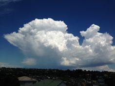Thunderstorm over South-East Auckland. December 2013.
