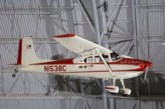 """April 17, 1964: Jerrie Mock became the first woman to pilot an aircraft around the world in the Cessna 180 """"Spirit of Columbus."""" She departed from Columbus, Ohio, on March 19, 1964, and arrived back home on April 17, 1964, after flying 36,964 kilometers (23,103 miles) in 29 days, 11 hours, and 59 minutes. See her aircraft on display at the Udvar-Hazy Center. columbus ohio, summer program, teen summer, program 2014, reaction teen"""
