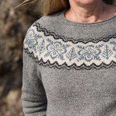 Ravelry: WallyOne's Silver Forest Sweater *TEST*