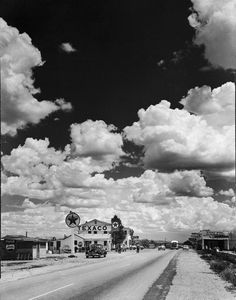 US 66, Seligman, Arizona    photo by Andreas Feininger
