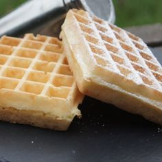 Fair Waffles i Cook in Recipe Guy demarle Spicy Recipes, Sweet Recipes, Crockpot Recipes, Dessert Drinks, Dessert Recipes, Biscotti, Beignets, Cheese Waffles, French Crepes