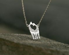 Fine or Fashion: Fashion Item Type: Necklaces Pendant Size: Style: Classic Necklace Type: Pendant Necklaces Gender: Women Chain Type: Link Chain Length: Metals Type: Zinc Alloy Shape\pattern: Animal Model Number: giraffe Brand Name: XK is_customized: Yes Giraffe Heart, Cute Giraffe, Giraffe Jewelry, Double B, Necklace Types, Shape Patterns, Jewelery, Lion, Pendant Necklace