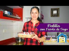 ECA-16   NATILLA CON FÉCULA DE SAGÚ   En casa con Amelia - YouTube Amelie, Youtube, Home, Shredded Coconut, Cherries, Spoons, Youtubers, Youtube Movies, Amelia