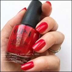 """OPI Adam Said """"It's New Year's, Eve"""" – Love OPI XOXO Holiday 2017"""