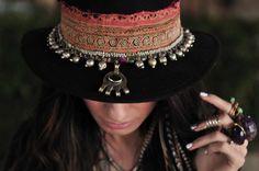 Madame De Rosa hat - via @cowboysindians - #CowgirlChic