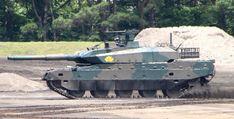 富士学校・富士駐屯地開設57周年記念行事 10式戦車機動デモ