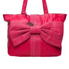 Red by Marc Ecko Bow Tote Cranberry up to 70% off | Handbags | Little Black Bag