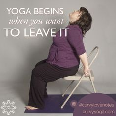 Want a little inspiration in your life today? Here's today's love note called This Is Where Yoga Begins. Get more at www.curvyyoga.com/lovenotes/. #CurvyLoveNotes