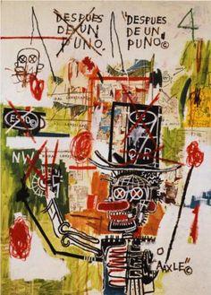 AfterPuno - Jean-Michel Basquiat 1987