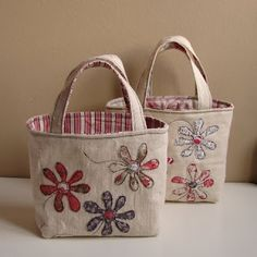Roxy Creations: Floral tote