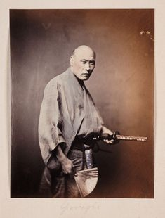 Samurai photographs, all taken between 1863 and 1900, in the twilight years of the Samurai's reign...