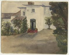 Crowell Old Rectory Watercolour painting Oxfordshire 1949 artwork by Vicar Vicars, Watercolour Painting, Artwork, Ebay, Work Of Art, Auguste Rodin Artwork, Artworks, Illustrators
