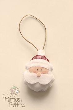 Pingente Papai Noel - Enfeite de Natal da Andrea   Flickr - Photo Sharing!