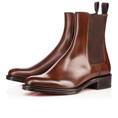 LUDOVIC FLAT CALF , HAVANE, Calf, Men Shoes, Louboutin.
