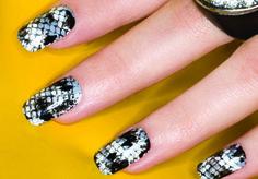 ORLY Snakeskin Nail Design - Cool Nail Designs