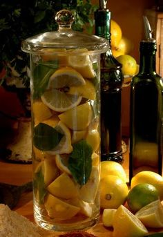 Sweet-sour preserved lemons