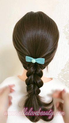 Hair Videos, Cute Hairstyles, Bts Jin, Hair Styles, Makeup, Beautiful, Fashion, Stylish Hairstyles, Hair