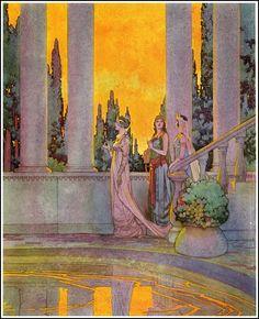 The Blue Fairy Book illust. by Frank Godwin 1921