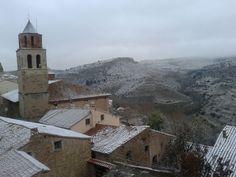 Buenos y nevaditos días desde #Allepuz
