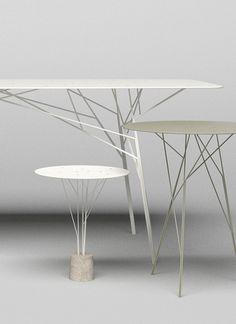 Tables arbustres par Zhili Liu                                                                                                                                                                                 More