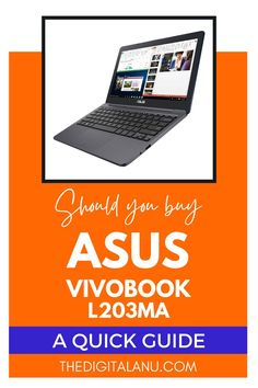Most graphic designers look for a type of laptop that they can use whenever they want and can carry along without any issue. But do you think that there is such a laptop available in the market? Well, there is. ASUS Vivobook L203MA is the lightest and slimmest laptop available in the market. #laptop