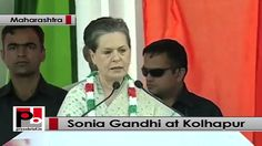 "Congress chief Sonia Gandhi, while addressing a huge election rally at Kolhapur in Maharashtra launched a scathing attack on the Bharatiya Janata Party (BJP) and Shiv Sena. While addressing her first campaign trail for the Assembly elections in Maharashtra, Sonia Gandhi said in Kolhapur: ""Their (BJP-Shiv Sena) aim is to spread hatred in society. Don't get swayed away by the BJP. ""She said opportunist parties like BJP and Shiv Sena can do anything for power."