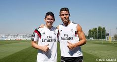 James Rodriguez and Cristiano Ronaldo. I can't handle this