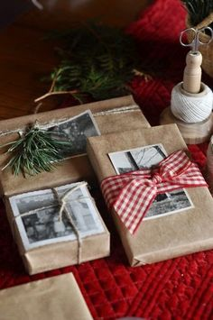 Świąteczne inspiracje- pakowanie prezentów