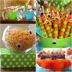 Art Monster birthday theme kid-stuff