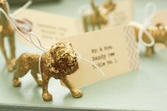 Set of 12  Animal Escort/Seating Cards/Place by SugarAndChicShop, $25.00