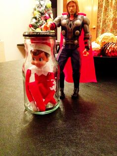 Elf on the Shelf ~ HELP, Someone to the rescue..