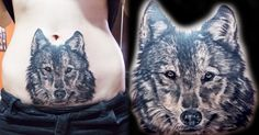 wolf black and grey