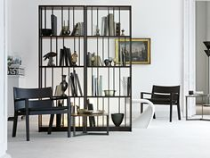 Chelsea Bookcase - Lema Modern Designer Furniture - Lema Contemporary S Space Furniture, Furniture Decor, Furniture Design, Contemporary Bookcase, Contemporary Furniture, Boconcept, Wall Unit Decor, Chelsea, Interior Decorating