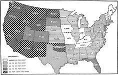 US population growth, 1900-1910    #ancestry #genealogy #Census #1910