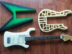 AMGP (Adapto Modular Guitar Pro) 3D Printable Guitar by RoyToreHofstad - Thingiverse