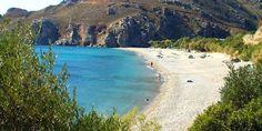 Plakias Beach in Rethimno, Crete
